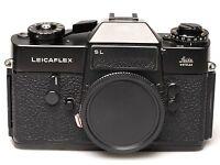 Leica Leicaflex SL schwarz Black Noir