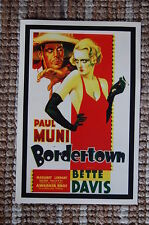 Boardertown Lobby Card Movie Poster Paul Muni - Bette Davis