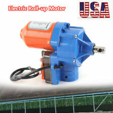 New listing Automatic 24V Electric Greenhouse Frame Shed Roll-up Motor Venting Solution