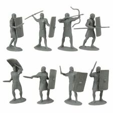 TSSD Ancient Roman Toy Soldiers 20 Unpainted Plastic 60mm Figures 1:30 FREE SHIP