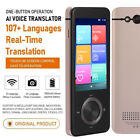 107 Languages Smart Voice Translator Bluetooth Wifi Android8.1 Two-Way Real Time