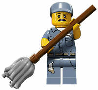 Lego Minifigures Series 15 Janitor
