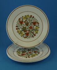 """4 Corelle Indian Summer 8.5"""" Lunch / Luncheon / Salad Plates ~NICE"""