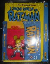 I Mille 1000 Volti Di RAT-MAN 7 Albo Statua WOLVERAT Wolverine Leo Ortolani Xmen