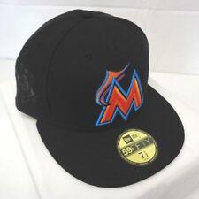 Miami Marlins Men s New Era 59FIFTY 7 1 2 Diamond Tech Hat Cap 30343301c725