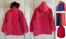 NWT Lands End Mens Lightweight Hooded Waterproof Rain Squall Parka Coat S 34-36