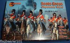 Mars 72024 Scots Greys guerras napoleónicas escala 1/72. 15 figuras de plástico sin pintar