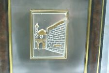 NEW Classica Handcrafted Cristal & Silver Series Wall Hanging Picture Jerusalem