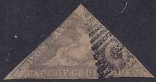 South Africa - Cape of Good Hope 1855 6d Pale rose-violet Hope SG 7 Used