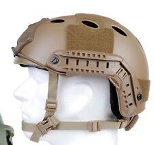 Tactical Helmet Mich Fast Dark Earth Taktischer Helm Paintball Airsoft Gotcha