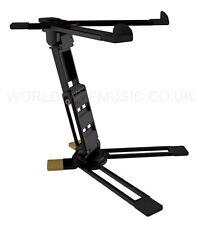 Hercules dg400bb Plegable Laptop Stand + Bolso-rápido y fácil de apoyo para Laptop