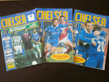 Chelsea v Real Betis European Cup Winners Cup Quarter Final 1997-98 Programme