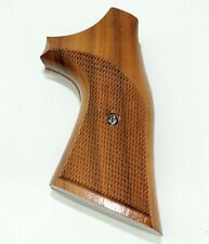 Smith and Wesson N frame Aftermarket Target Wood Grips Revolver w/Screw