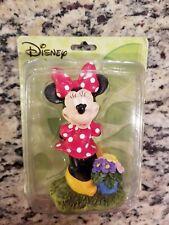 "Disney Minnie Mouse Miniature Garden Statuette New #5391818 4"""
