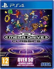 SEGA Mega Drive Classics For PS4 (New & Sealed)