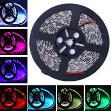 5050 Multi Color/White/Red/Green 300LED SMD Flexible LED Strip Light IP68 DC 12V
