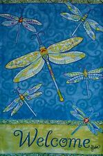 Dragonfly Flight - Reversible Porch Size Flag