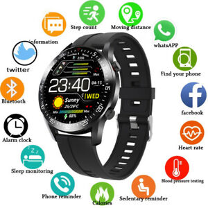 Waterproof Smart Watch Heart Rate Blood Oxygen Monitor Fitness for Android iOS