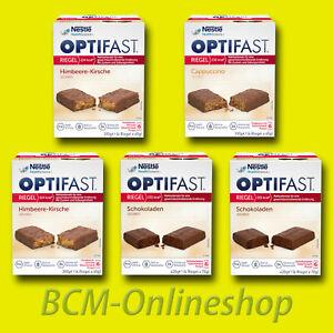 * BCM Onlineshop * REDUZIN - 5 x Karton OPTIFAST Diät Riegel = 30 Mahlzeiten