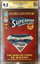 Superman: The Man of Steel  #22 - CGC SS 9.2 - SIGNED by Louise Simonson!!