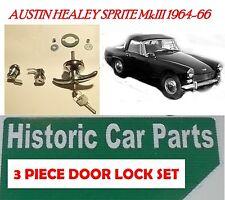 Sprite Di Austin Healey Mk III 3 64-66 Set Bloccaggio per portiere & Bagagliaio