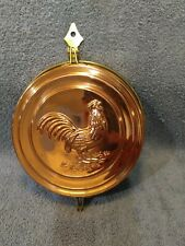 Vintage Rooster Copper Brass Hide A Key Hanging Holder Wall Decor