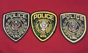 Federal Protective Service three patch set