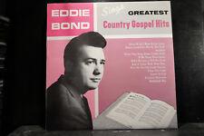 Eddie Bond - Sings Greatest Country Gospel Hits