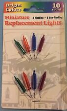 10 Count Bright Colors Miniature Replacement Lights