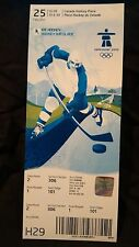 VANCOUVER 2010 WINTER OLYMPIC GAMES - ICE HOCKEY - WOMENS GOLD MEDAL CANADA USA
