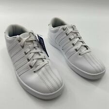 K-Swiss Court Women's White Basic Sneakers Casual Shoes Style Size 8.5