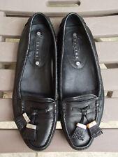 mocassins cuir noir JONAK P36très bon état | eBay