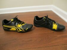 Used Worn Size 10 Puma Penigale II Ducati Shoes Black Gold Gray