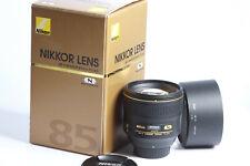 Nikon AF-S Nikkor 1,4/85 G N Lens lichtstarkes Portrait
