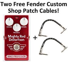 New Mad Professor Mighty Red Distortion PCB Guitar Effects Pedal!