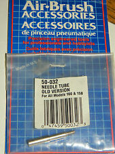 AIR BRUSH 50-032 ACCESSORIES pinceau pneumatique NEEDLE TUBE old version 100 150