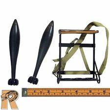 Hayden Christ - Metal Mortar Shells w/ Rack - 1/6 Scale - DID Action Figures
