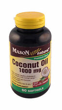 Coconut Oil  60 softgels    Maintain  healthy hair and skin