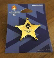 Sheriff's Star Salt Lake City 2002 Olympic Pin