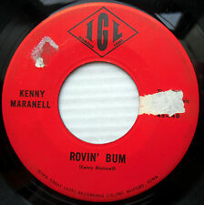 Kenny Maranell ?COUNTRY ROCK 45 My Little Angel b/w Rovin Bum  STRONG VG  JR335