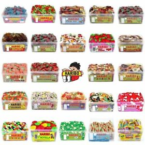HARIBO PICK N MIX TUBS or BAGS SWEETS CANDY BOX KIDS PARTY FAVOURS