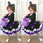 2Pcs Newborn Kid Baby Girls Tops Romper+Tutu Dress Cosplay Party Clothes Outfits