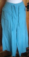 Cotton Cargos Loose Fit Trousers Size Petite for Women