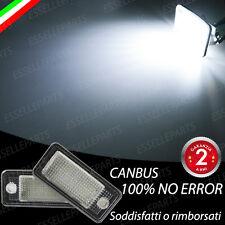 PLACCHETTE A LED LUCI TARGA 18 LED SPECIFICHE AUDI A3 8P + SPORTBACK NO ERROR