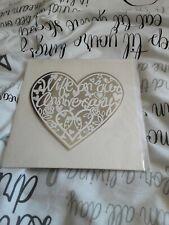Wife anniversary greeting card - BNIP