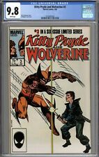 Kitty Pryde and Wolverine #3 CGC 9.8 NM/MT WHITE PAGES