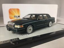 GLM 1/43 LINCOLN CONTINENTAL TOWN CAR 1987 GREEN MET. ART. GLM43102802