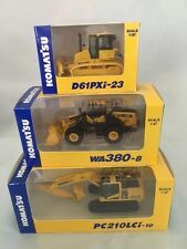 Komatsu Official 1/87 PC210LCi-10 Excavator, D61PXi-23 ,WA380-8 Shareholder LTD