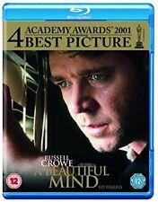 A Beautiful Mind [Blu-ray] [2001] [Region Free] [DVD][Region 2]