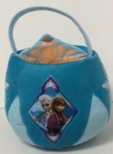 Nwt Disney's Frozen Elsa & Anna Princess Plush Easter Egg Basket Treat Bucket